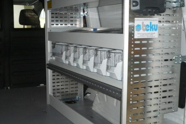Regale Sortimo Globelist für Energiedienstleister
